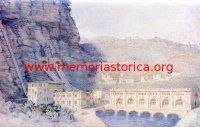 GIUSEPPE UGONIA (1881-1994) Centrale idroelettrica di Fadalto Nuova a Treviso (acquarello, 1922)